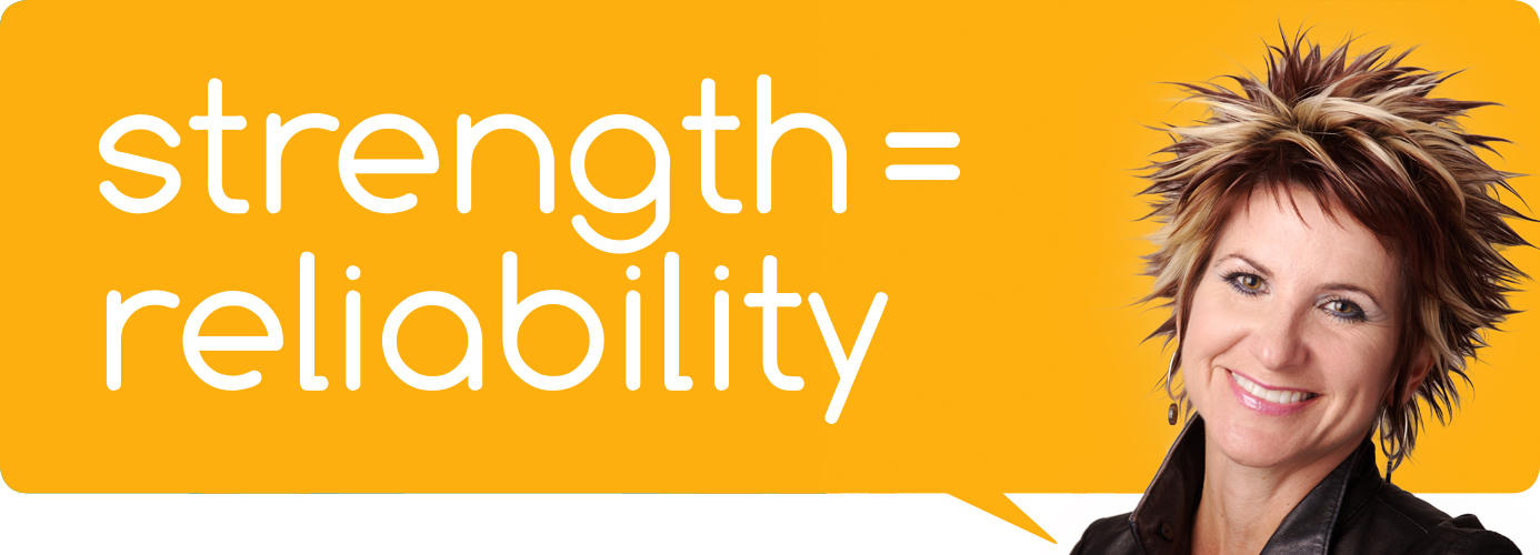 Strength = Reliability